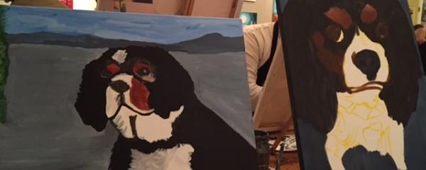 Sip & Canvas Fundraiser Success